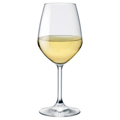 Bormioli Rocco Restaurant White Wine Glass 15oz Set of 4