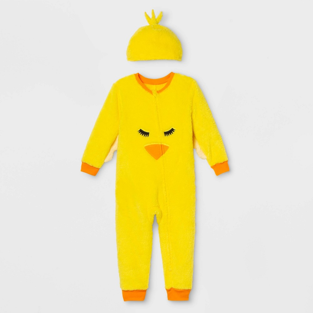 Image of Toddler Chick Family Union Suit - Rose Yellow 12M, Adult Unisex