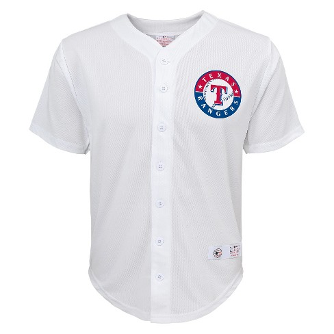 Texas Rangers Boys' Prince Fielder Jersey White M - image 1 of 2