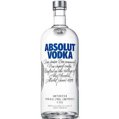 Absolut Vodka - 1.75L Bottle