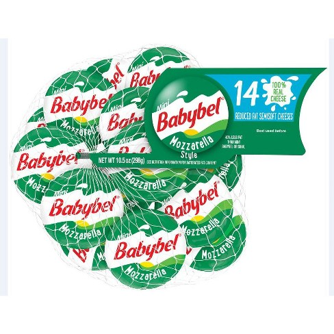 Mini Babybel Reduced Fat Mozzarella Semisoft Cheeses - 14ct - image 1 of 4