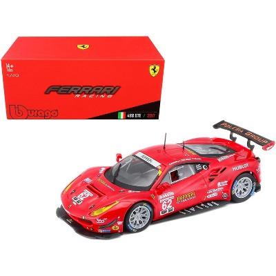 Ferrari 488 GTE #62 G. Fisichella - T. Vilander - J. Calado 24 Hours of Daytona (2017) 1/43 Diecast Model Car by Bburago