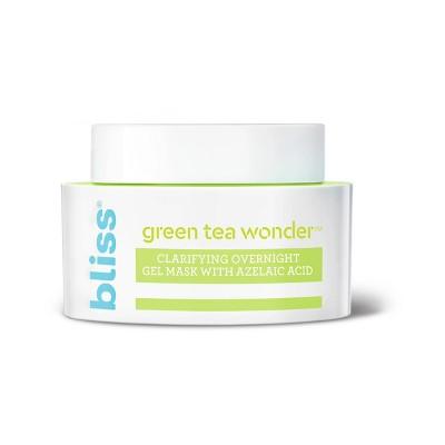 Bliss Green Tea Wonder Clarifying Overnight Gel Mask   7 Fl Oz by 7 Fl Oz