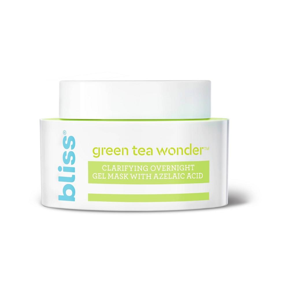 Image of Bliss Green Tea Wonder Clarifying Overnight Gel Mask - 1.7 fl oz