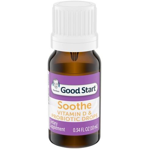 Gerber Soothe Vitamin D & Probiotic Drops - .34 fl oz - image 1 of 4