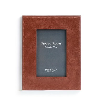 DEMDACO Brown Leather Frame Brown