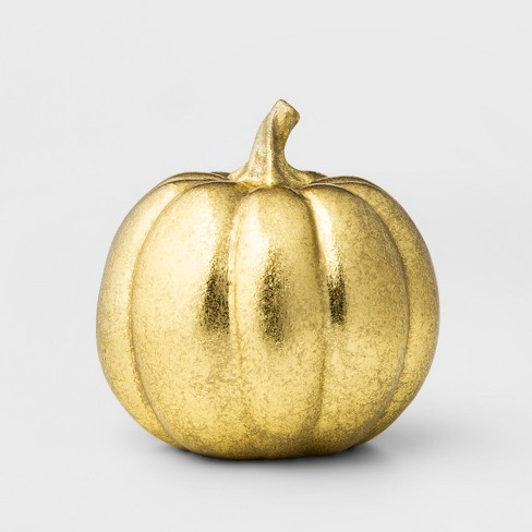 Pumpkin Figural Small - Gold - Threshold™ - image 1 of 2