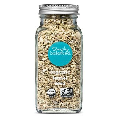 Organic Fennel Seed - 2.4oz - Simply Balanced™