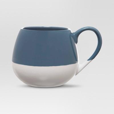 Threshold™ Snuggle 19oz Stoneware Mug Set of 4 Navy