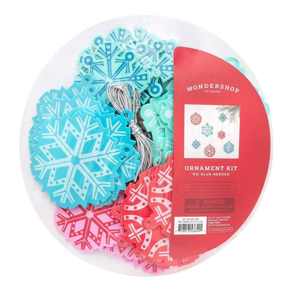 Image of 20pk Snowflake Activity Platter - Wondershop