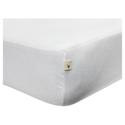 Burt S Bees Baby 174 Organic Jersey Fitted Crib Sheet Target