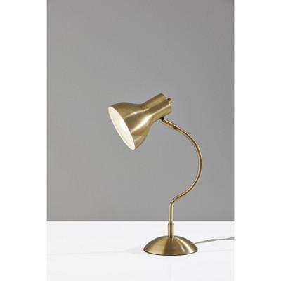 Elmhurt Desk Lamp Antique Brass - Adesso