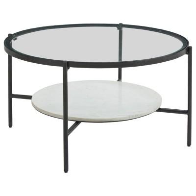 Zalany Coffee Table Black/White - Signature Design by Ashley