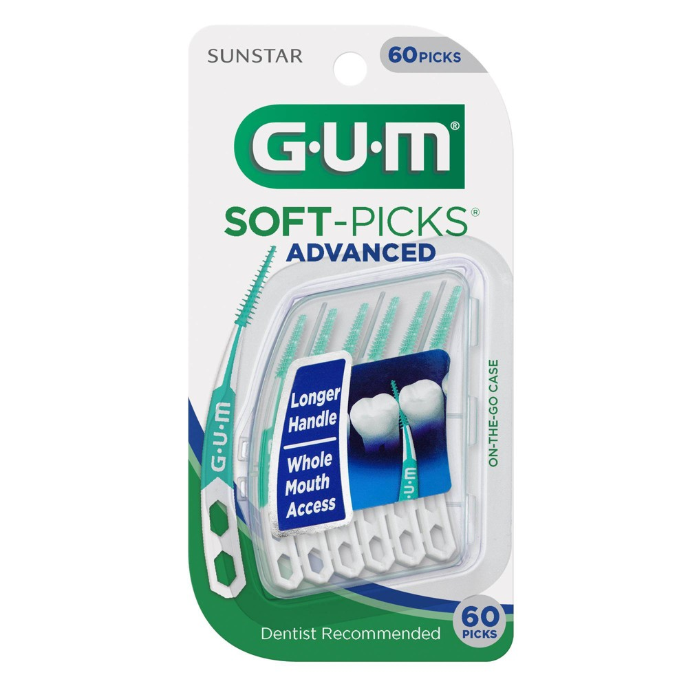 Image of Sunstar GUM Inter-dental Soft-Picks Advanced 60ct