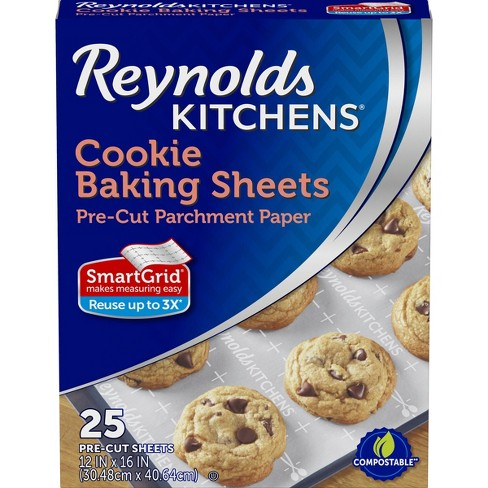 Reynolds Kitchens Cookie Baking Sheets - 25ct/1.33 sq ft - image 1 of 4