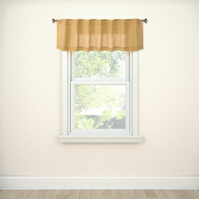 Window Valance Bonaire Yellow 54  - Threshold™