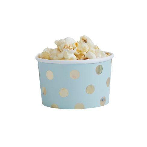 8ct Ginger Ray Gold Foiled Polka Dot Treat Tubs Pic Target