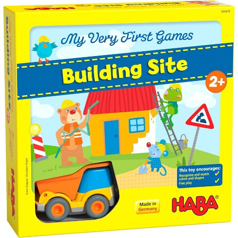 HABA My Very First Games Building Site (Made in Germany) - image 1 of 4