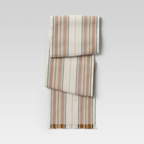 Cotton Striped Table Runner - Threshold™ - image 1 of 2