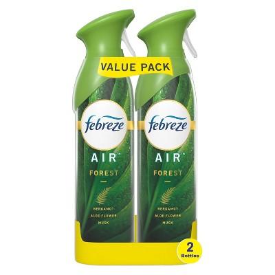 Febreze Odor-Eliminating Air Freshener - Forest Scent - 2ct/17.6 fl oz