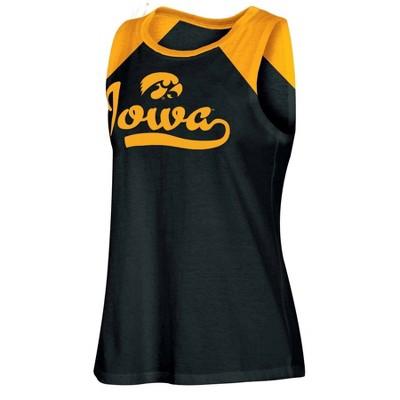 NCAA Iowa Hawkeyes Women's Tank Top