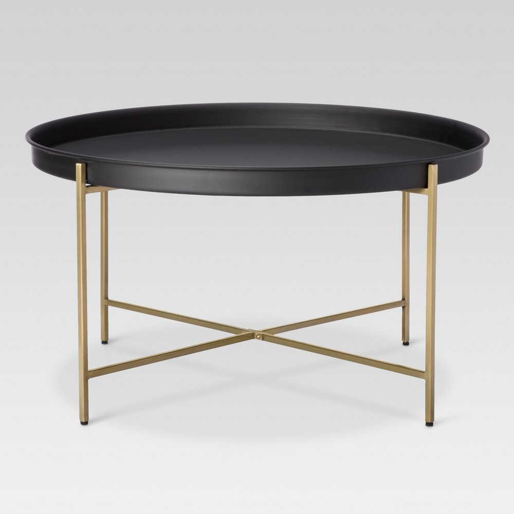 Brass Tray Coffee Table - Threshold