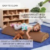 ECR4Kids SoftZone Tree Log Climber and Soft Balance Board Play Set - Obstacle Course for Kids - image 3 of 4
