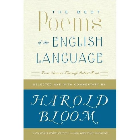 The Best Poems of the English Language - by  Harold Bloom (Paperback) - image 1 of 1