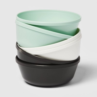15.5oz 6pk Plastic Kids' Bowls - Pillowfort™