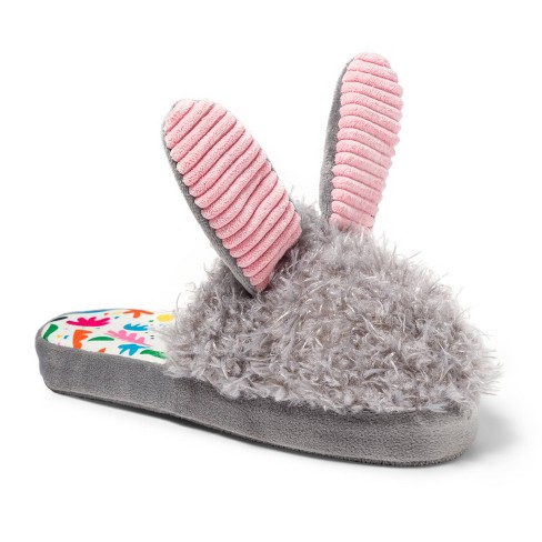 Furry Bunny Slipper Dog Toy - S - Boots & Barkley™ - image 1 of 2