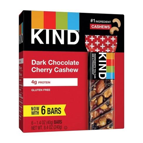 KIND Dark Chocolate Cherry Cashew Bars - 8.4oz/6ct - image 1 of 4