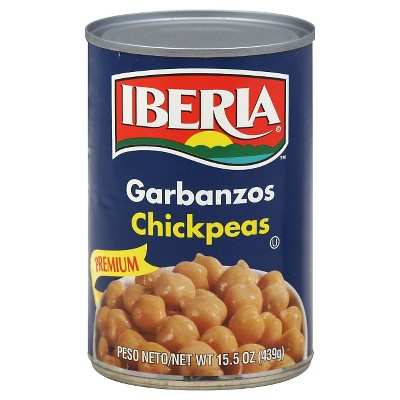 Iberia Garbonzos Chicken Peas 15.5oz