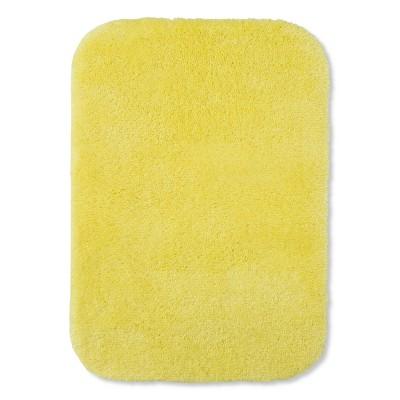 24 x17  Solid Bath Rug Yellow - Room Essentials™