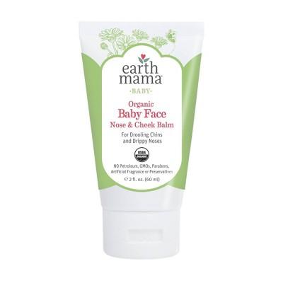 Earth Mama Organics Baby Face Nose & Cheek Balm - 2 fl oz