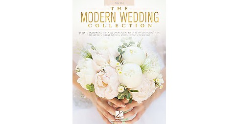 Modern Wedding Collection : Piano Solo (Paperback) - image 1 of 1