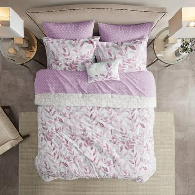 Leisha Reversible Complete Bedding Set