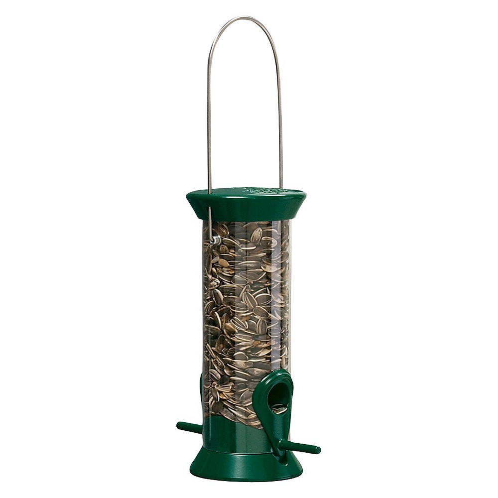Droll Yankees New Generation 8 Sunflower Mixed Seed Feeder Green
