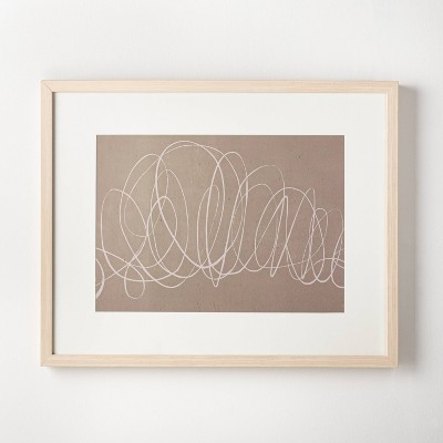 "30"" x 24"" Scribble Art Print - Threshold™ designed with Studio McGee"