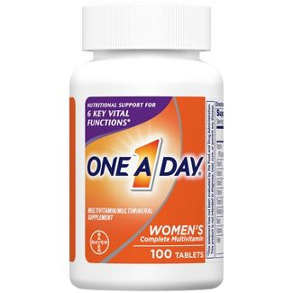 One A Day Womens Multivitamin & Multimineral Tablets - 100ct
