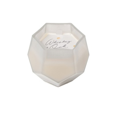 5oz Gem Glass Jar Candle Whiskey & Oak - Project 62™
