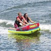 Connelly Fun 2 Person 2 Way 65x65 Inch Hybrid Inflatable Pull Behind Boat Towable Water Inner Tube - image 4 of 4