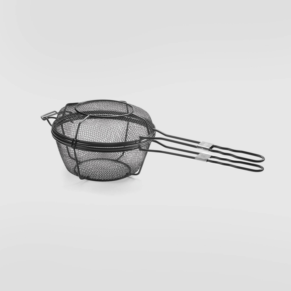 Chefs Outdoor Grill Basket Black – Outset 76159641