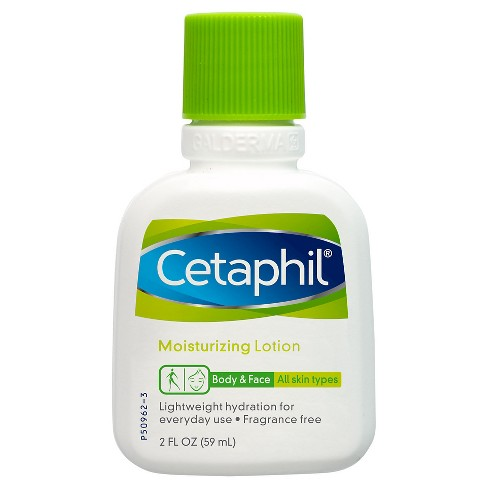 Unscented Cetaphil Body & Face Moisturizing Lotion - 2oz - image 1 of 1