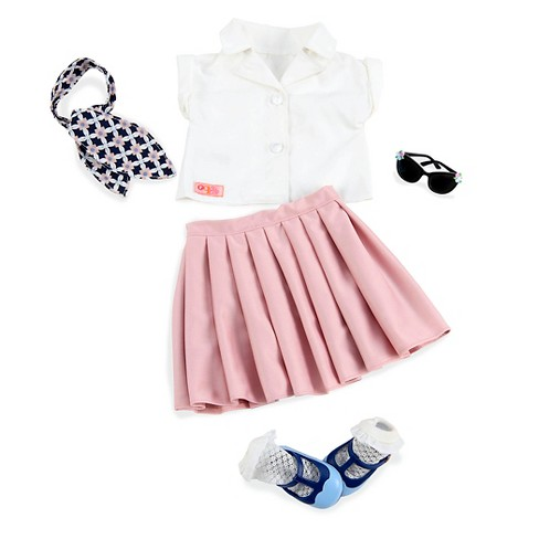Our Generation® Retro Outfit - Rockin' Rosy™ - image 1 of 3