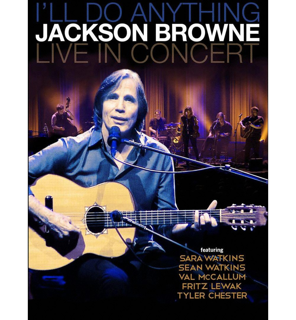 I'll do anything:Live in concert (Blu-ray)