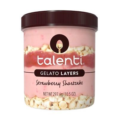 Talenti Gelato Layers Strawberry Shortcake - 10.5oz
