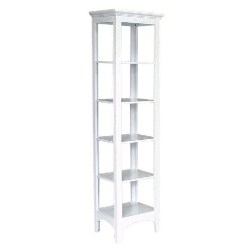 Madison Avenue Linen Cabinet White - Elegant Home Fashions - image 1 of 2