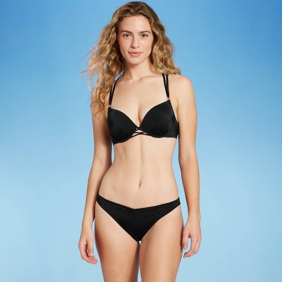 Women's Push-Up Double Strap Bikini Top - Shade & Shore™