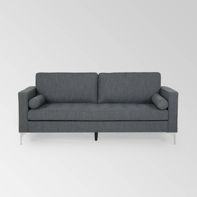 Portwall Contemporary Tufted Sofa - Christopher Knight Home