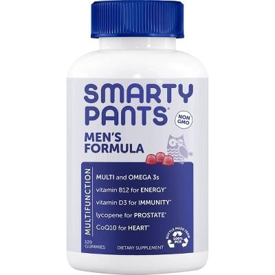 SmartyPants Men's Formula Multivitamin Gummies - 120ct